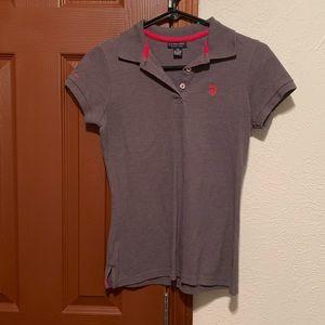 U.S. Polo short sleeve collared shirt